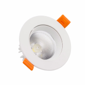 SPOT LED COB ORIENTABLE Blanc 7W
