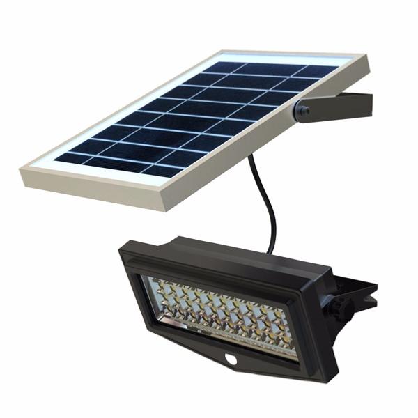 projecteur led solaire 10w avec d tecteur de mouvement et. Black Bedroom Furniture Sets. Home Design Ideas