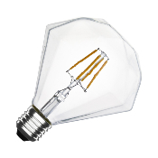 Ampoule LED E27 G105 Dimmable Filament Diamond 3.5W