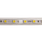RUBAN LED 220V SDM5050 Blanc Neutre 50 METRES