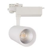 Spot LED Bertha 30w Blanc pour Rail Triphasé