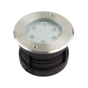ENCASTRE DE SOL LED 6W 220V IP67 BLANC FROID