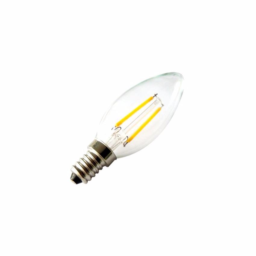 ampoule led e14 c35 filament 2w ledgam. Black Bedroom Furniture Sets. Home Design Ideas