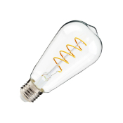 Ampoule LED E27 ST64 Dimmable Filament Spirale Big Lemmon 4W