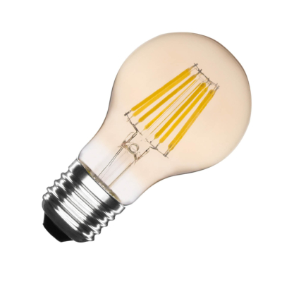Ampoule LED E27 A60 Dimmable Filament Gold Classic 6W