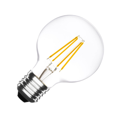 Ampoule LED E27 G80  Dimmable Filament Globe 6W