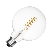 Ampoule LED E27 G125 Dimmable Filament  Spirale Suprême 4W