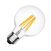 Ampoule LED E27 G95  Dimmable Filament Planet  6W