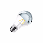Ampoule LED E27A60 Silver  DIMMABLE FILAMENT 6W
