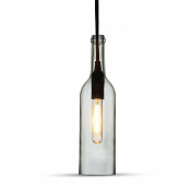 SUSPENSION BOUTEILLE et ampoule led 4w
