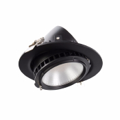 PROJECTEUR LED Orientable Rond DIMMABLE 38W