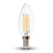 Ampoule LED E14 Candle FILAMENT 4W