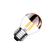 Ampoule LED E27 G45 Dimmable Filament Copper Reflect Small Classic 3.5W
