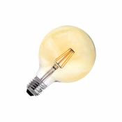 Ampoule LED E27G125 Yellow  DIMMABLE FILAMENT  6W