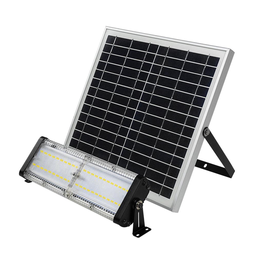 projecteur led solaire 40w int rieur ext rieur ip67 ledgam. Black Bedroom Furniture Sets. Home Design Ideas