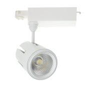 Spot LED Gatling Blanc 40w pour Rail Triphasé