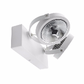 Spot LED Cree en saillie Orientable AR111 30W Dimmable Blanc