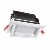 PROJECTEUR LED Orientable Rectangulaire DIMMABLE 38W