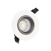 Spot LED Downlight COB Orientable 360° Rond 18W Design 120mm