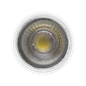 Ampoule LED GU10 Dimmable COB  Cristal 45° 7W