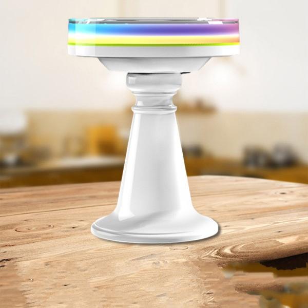 lampe de table led solaire rgb avec t l commande ledgam. Black Bedroom Furniture Sets. Home Design Ideas