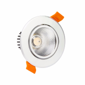 SPOT LED COB ORIENTABLE Alu  12W