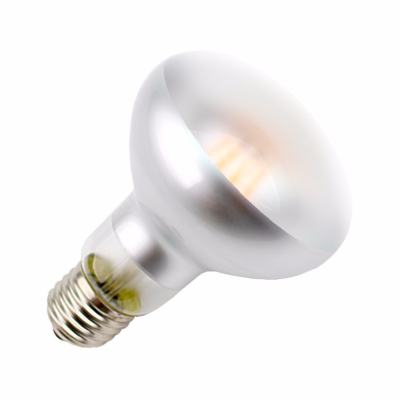 Ampoule LED E27 R80 Opaque DIMMABLE FILAMENT  6W