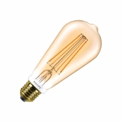 Ampoule LED E27 ST64 Philips DIMMABLE FILAMENT GOLD 7W