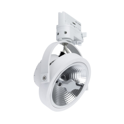 Spot LED CREE AR111 15w Dimmable Blanc pour Rail Triphasé