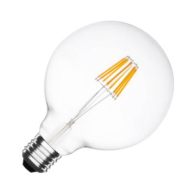 Ampoule LED E27 G125 Dimmable Filament Suprême 6W