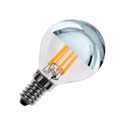 Ampoule LED E14 G45 Silver DIMMABLE FILAMENT 3.5W