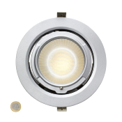 Projecteur LED Samsung 120lm/w Rond Orientable 38W Silver Lifud