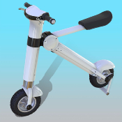 SCOOTER ELECTRIQUE  PLIABLE Scoot-E
